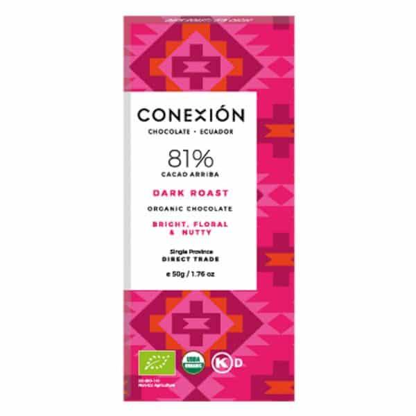 Chocolate Conexion Tueste Oscuro 81%