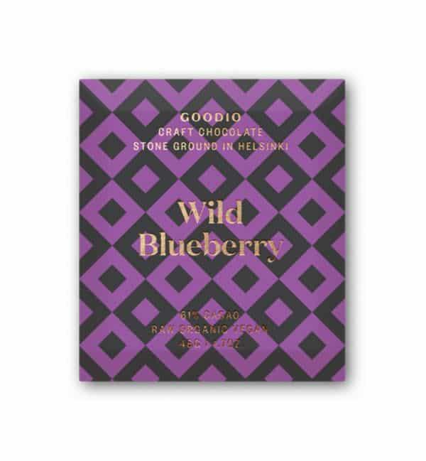 Chocolate Goodio Wild Blueberry 61%