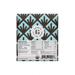 Chocolate Goodio Coconut 51% Ingredientes