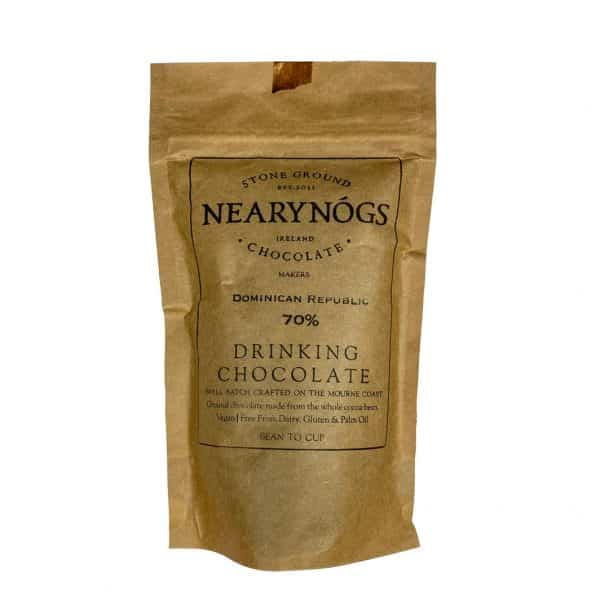 Nearynogs Hot Chocolate 70% Chocolate a la taza