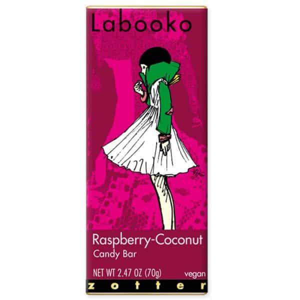 Zotter Labooko Raspberry Coconut tableta