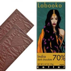 Chocolate Zotter Labooko India 70%