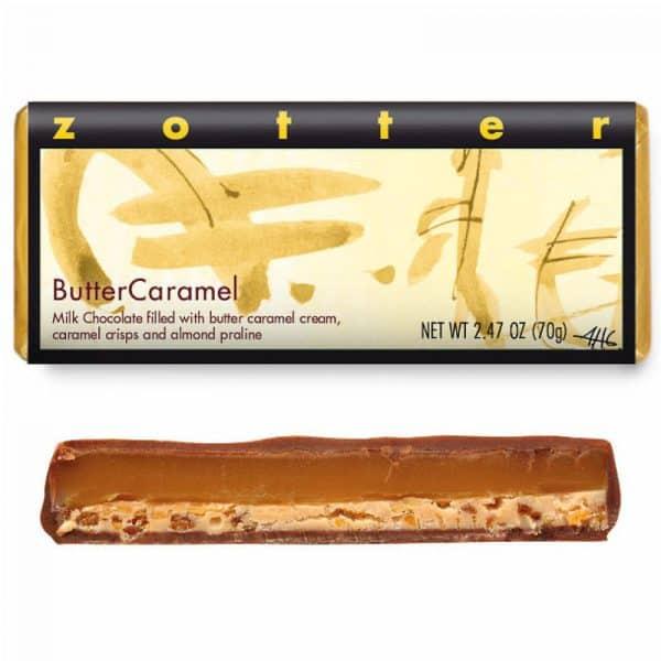 Chocolate Zotter Butter Caramel
