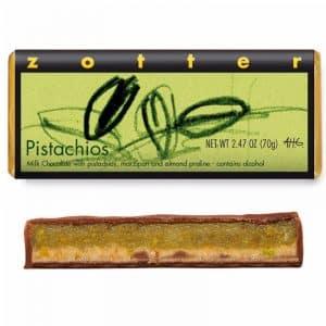 Zotter Chocolate Pistachos BIO
