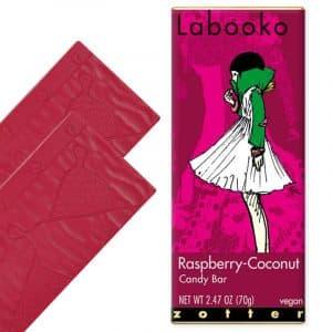 Zotter Labooko Raspberry Coconut