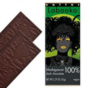 Zotter Labooko Madagascar 100% Cacao