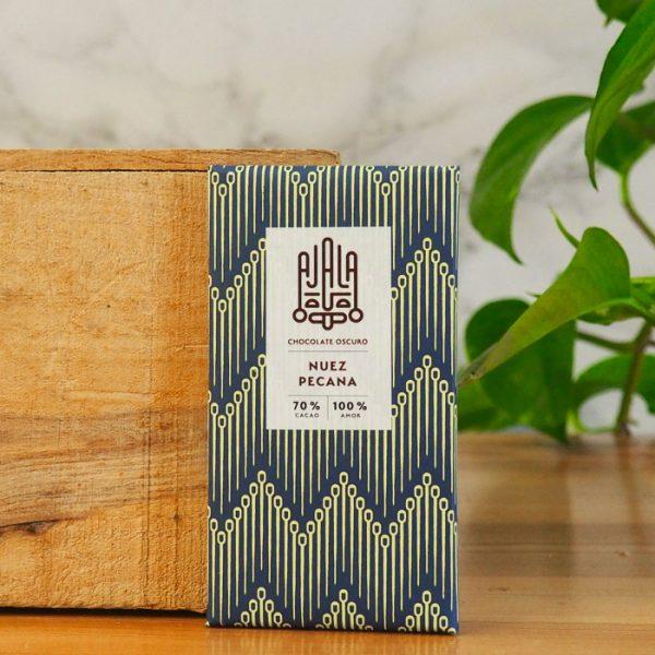 Chocolate Ajala Nuez Pecana 70%