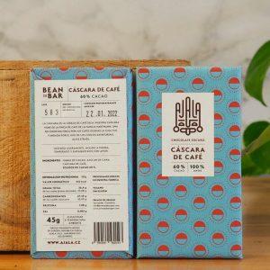 Chocolate Ajala Cascara de Cafe Ingredientes