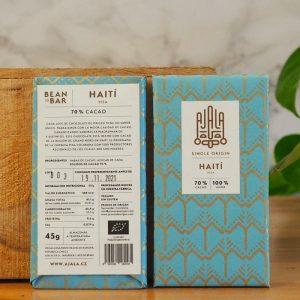 Chocolate Ajala Haití 70% Ingredientes