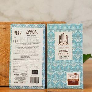 Chocolate Ajala Crema de Coco 55%