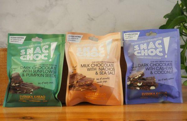 Pack Chocolates Snac Choc Svenska Kakao