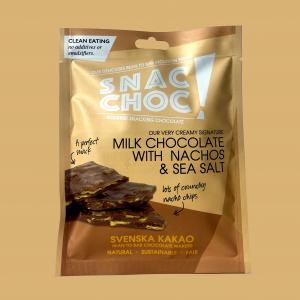 Snac Choc Milk Chocolate, Nachos & Sal