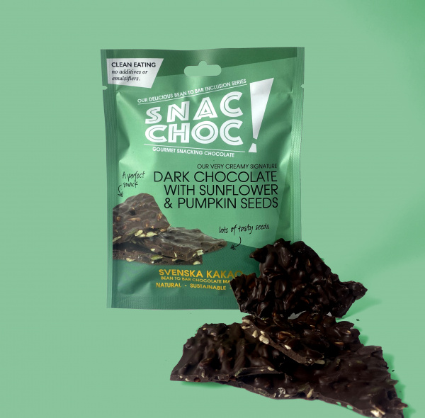 Snac Choc Pipas de Calabaza & Girasol tabletas
