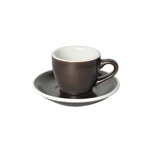 Taza Espresso Gunpowder 80ml Loveramics