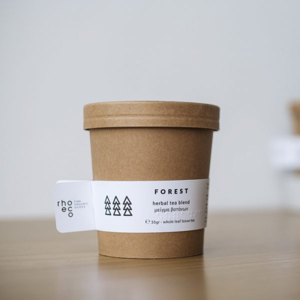 Rhoeco Forest Organic Packaging